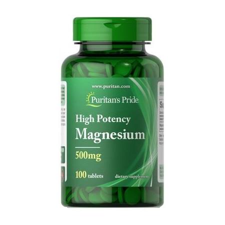 Магний Puritan's Pride - Magnesium 500 мг (100 таблеток)