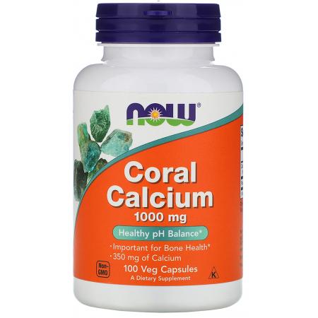 Минералы Now Foods - Coral Calcium 1000 мг (100 капсул)