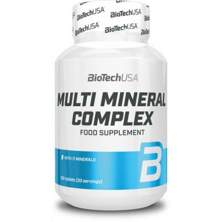 Минеральный комплекс BioTech - Multimineral Complex (100 таблеток)