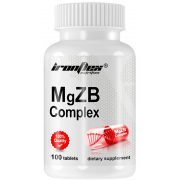 Магний-цинк-B6 IronFlex - MgZB Complex (100 таблеток)