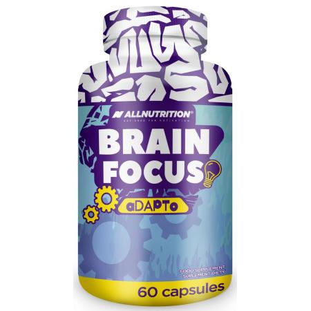 Поддержка памяти и концентрации AllNutrition - Brain Focus (60 капсул)