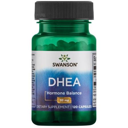 Поддержка уровня гормонов Swanson - DHEA 50 мг (120 капсул)