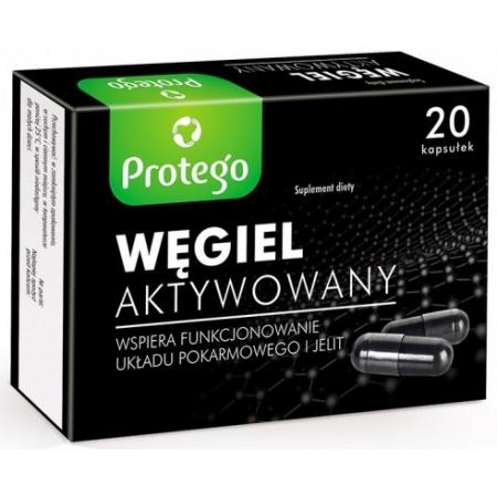 Активированный уголь Salvum Lab - Wegiel Aktywowany (20 капсул)