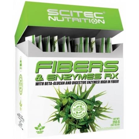 Здоровье кишечника Scitec Nutrition - Fibers & Enzymes RX (30 x 8,5 грамм)